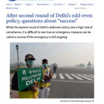 "After second round of Delhi's odd-even policy, questions about ""success"" _ The Third Pole_Page_01"